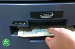 Как снять деньги в ГОА